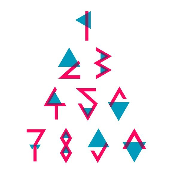 """""""Triangle font pt. 2 on the B…"""" on Designspiration"""