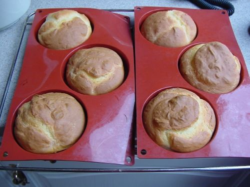 Kwarkbroodjes - Krentenbollen