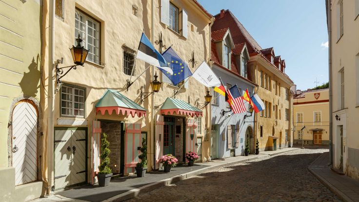 Schlössle Hotel Tallinn, Estonia is a small luxurious hotel in the heart of Tallinn's Old Town.The building itself dates back to the Medieval period.