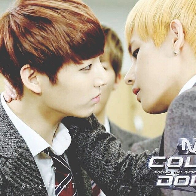 V-Kook .... O.O they ship themselves :,)
