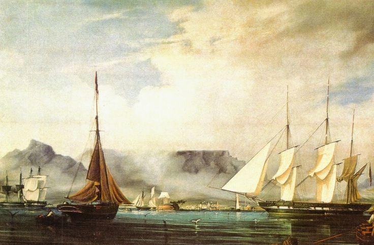 Photos - Google+ Sailing Ships of 1800s - Painting Thomas Baines 1847