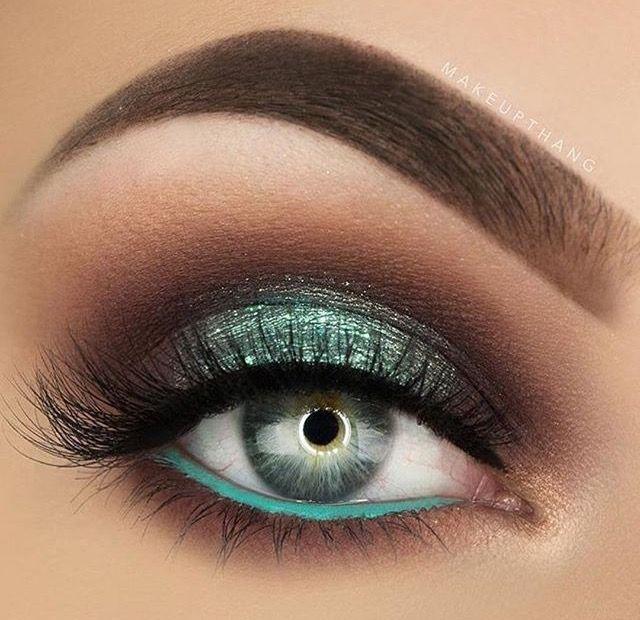 Maquillaje para ojos / sombra para ojos / sociales / fiestas / noche / día / natural / difuminado / ideas para maquillarte / fácil / ojos pequeños / ojos grandes / paso a paso / ojos cafés / verde / dorado / negro / FOTO VÍA INSTAGRAM