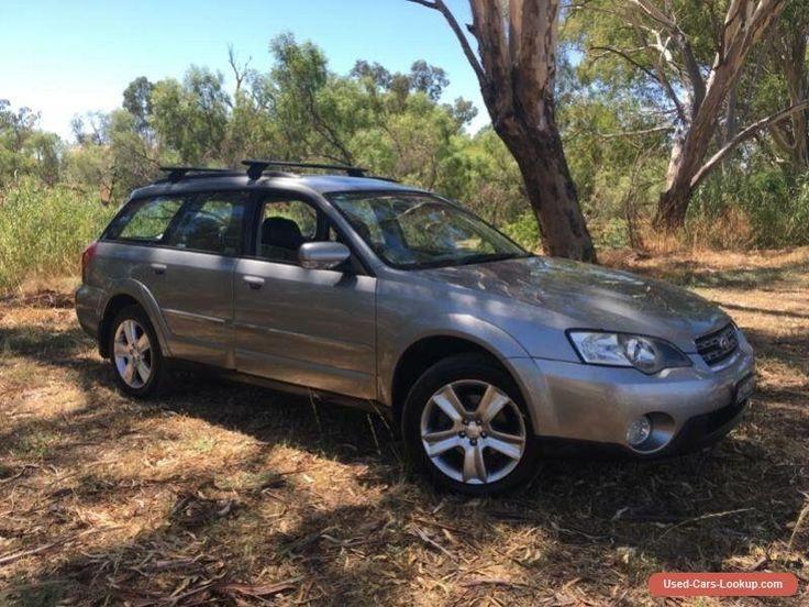 2005 Subaru Outback MY05 3.0R Premium Urban Grey Automatic 5sp A Wagon #subaru #outback #forsale #australia