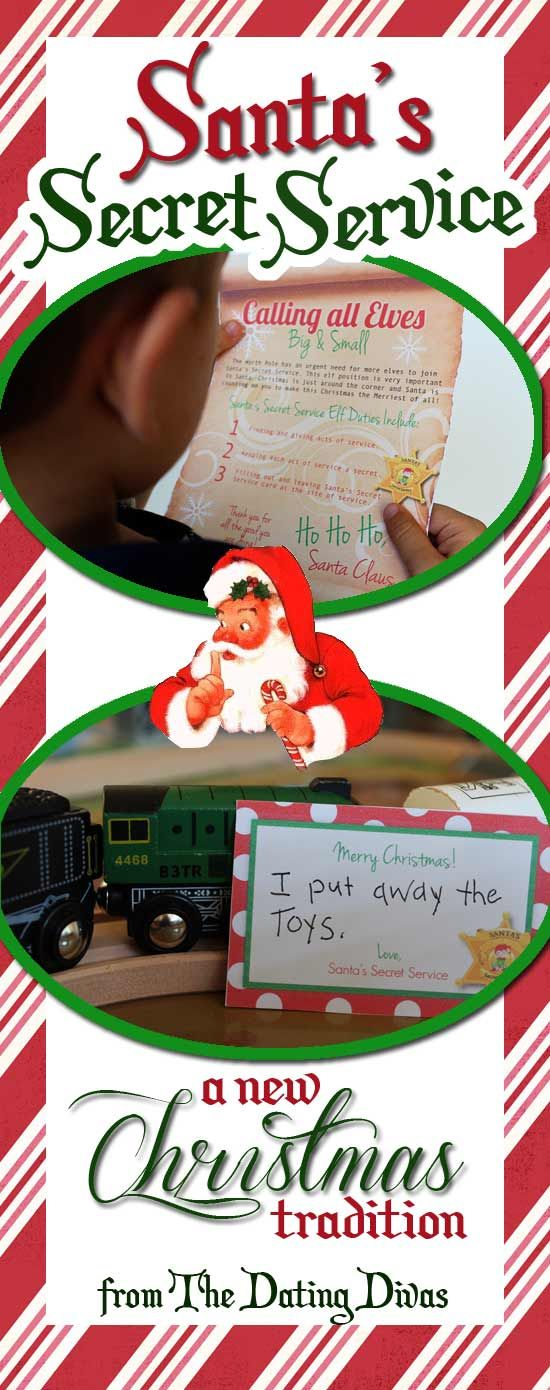 Secret Santa Service - love this to get the kids focused on GIVING instead of GETTING! at Christmas