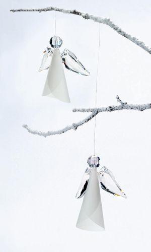 Angel Figurines with SWAROVSKI ELEMENTS by Swarovski.