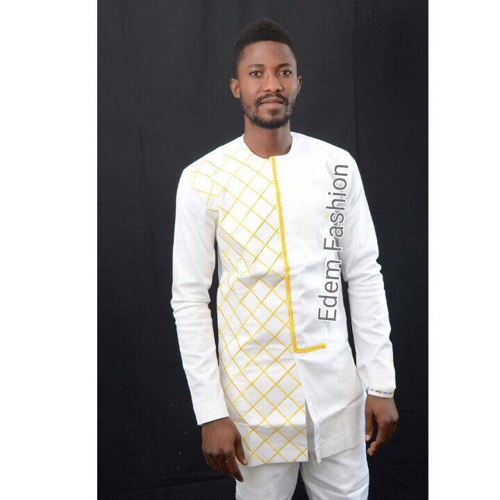 africain blanc et or v tements dashiki chemise dashiki cadeau d anniversaire de la mode. Black Bedroom Furniture Sets. Home Design Ideas