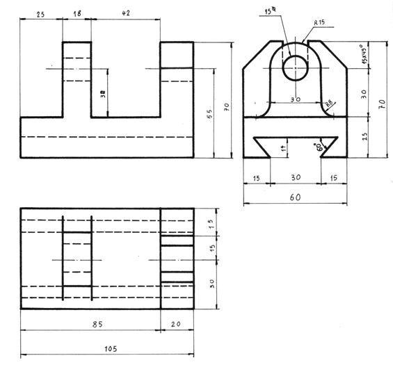 Dibujo Tecnico Basico Tecnicas De Dibujo Ejercicios De Dibujo Proyecciones Dibujo Tecnico