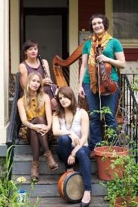 all-female Irish music band, The Forge
