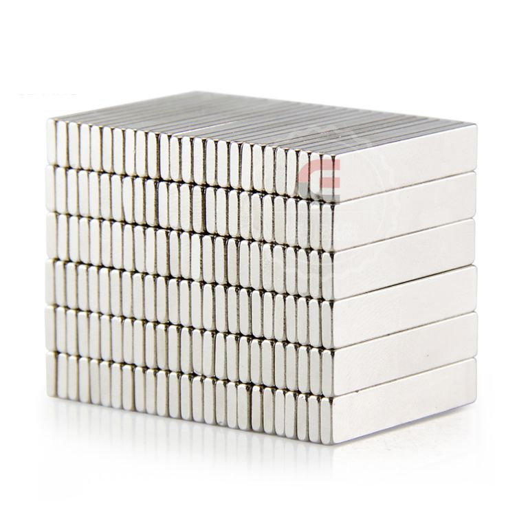 50pcs Strong Rare Earth Bar Neodymium Magnets N50 25x5x1.5mm Permanet Customizable magnet