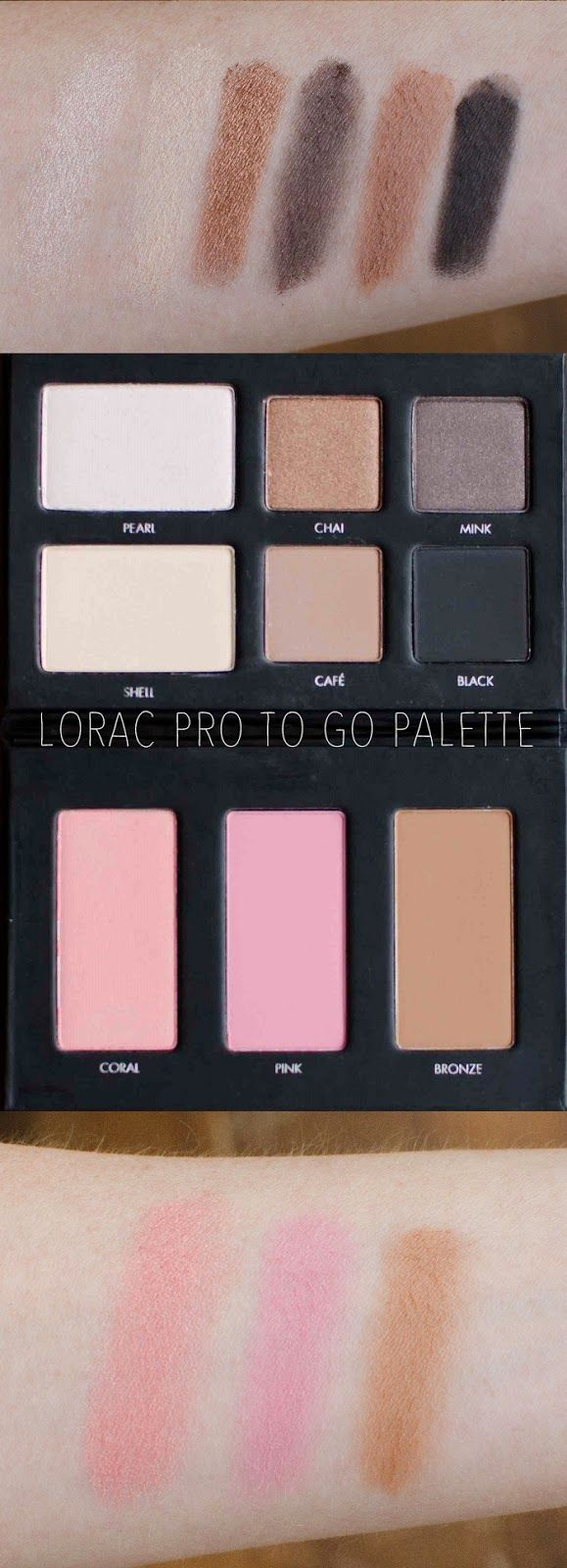 Lorac Pro to go palette : GREAT for travel or to give as a gift!