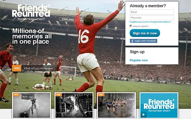 Friends Reunited, the original British social network, is relaunching itself   with a focus on memories in a bid to differentiate itself in a space   dominated by Facebook.