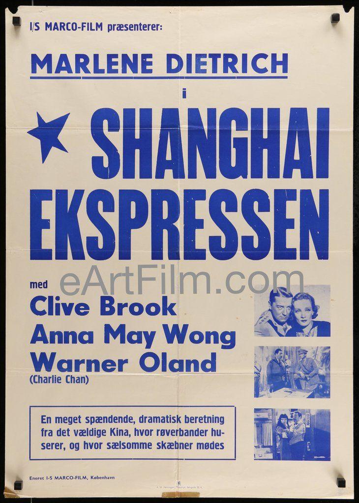 Feb 3 1932 #ShanghaiExpress #premiere #LosAngeles https://eartfilm.com/products/shanghai-express-r50s-1932-24x34-danish-movie-poster-marlene-dietrich #JosefvonSternberg #MarleneDietrich #AnnaMaeWong #CliveBrook #movie #movies #poster #posters #film #cinema #movieposter #movieposters    Shanghai Express R50's-1932 24x34 Danish Movie Poster Marlene Dietrich | eArt/Film