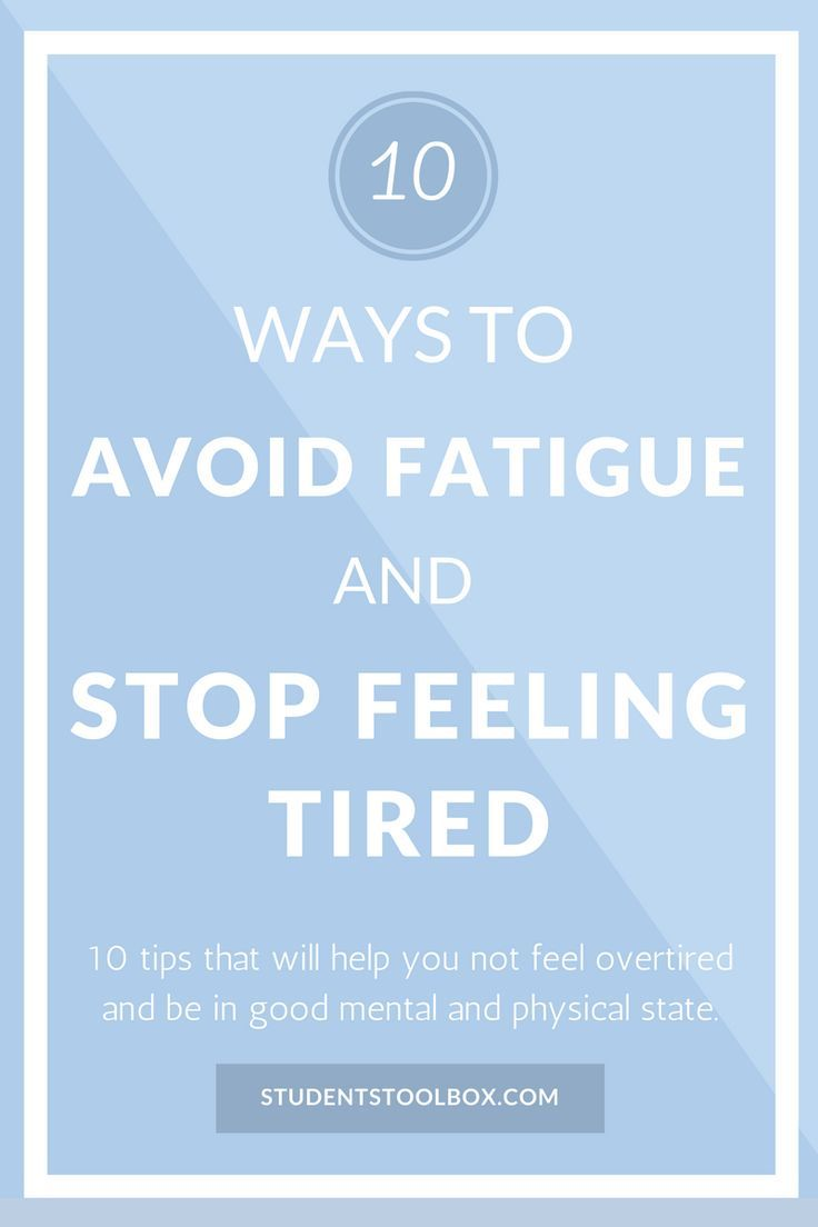 Here you go! 10 tips and hacks to avoid fatigue and stop feeling tired for high school and college students. Also check out our FREE email course to achieve more!