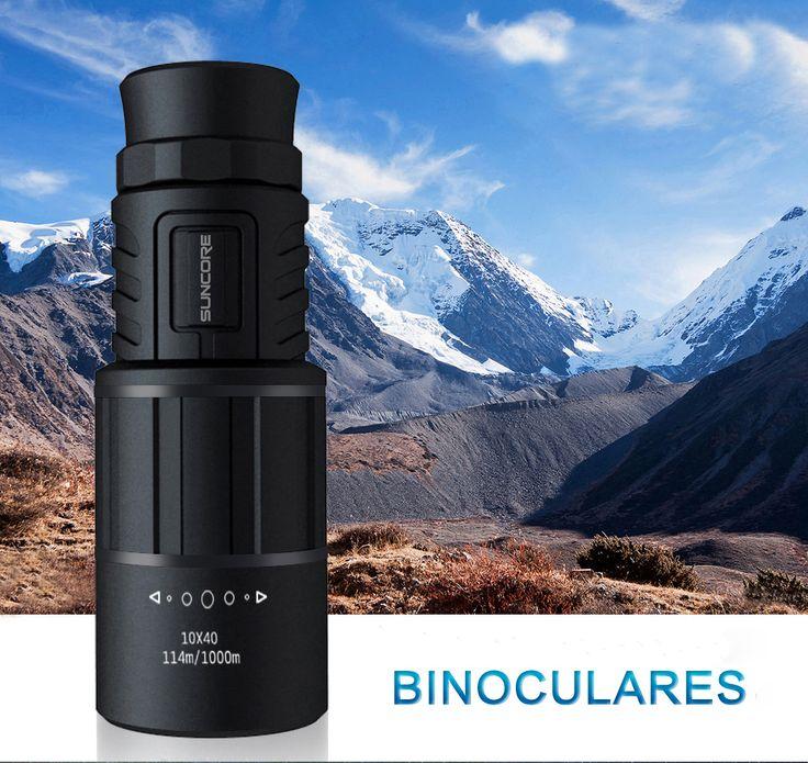 IPRee HD 10x40 Monocular Telescope with Mobile Phone Stand BAK-4 Traveler Handy Optic Lens Eyepiece