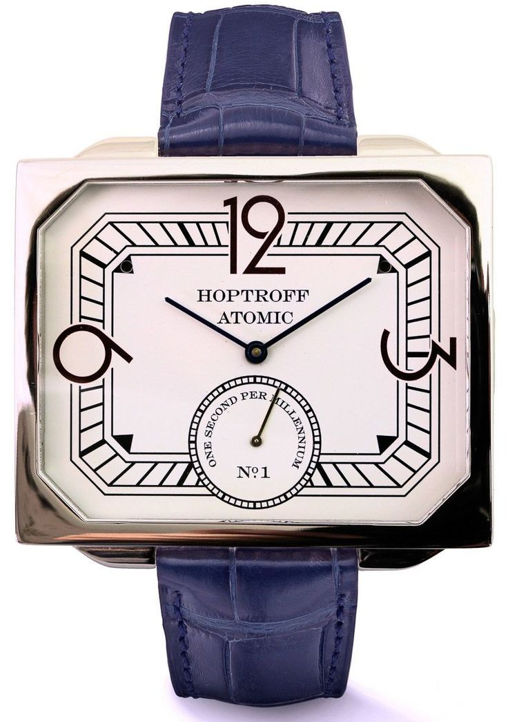 Hoptroff Atomic Watches: Now In Wearable Sizes