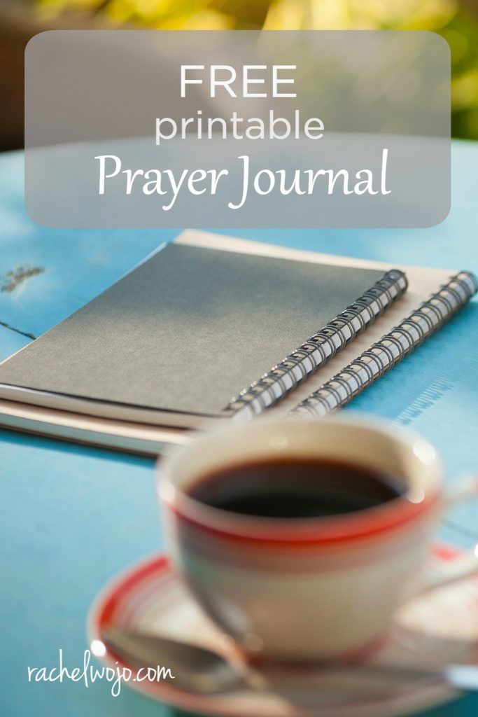 As soon as I posted the photo of the prayer journals on Instagram, a friend…