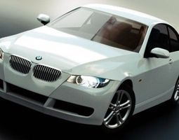 BMW 3 Series Coupe 3D Model