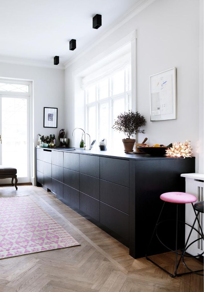 High Quality Perfection.. Here Is My Future Kitchen.. Lights, Herringbone Timber Floors,