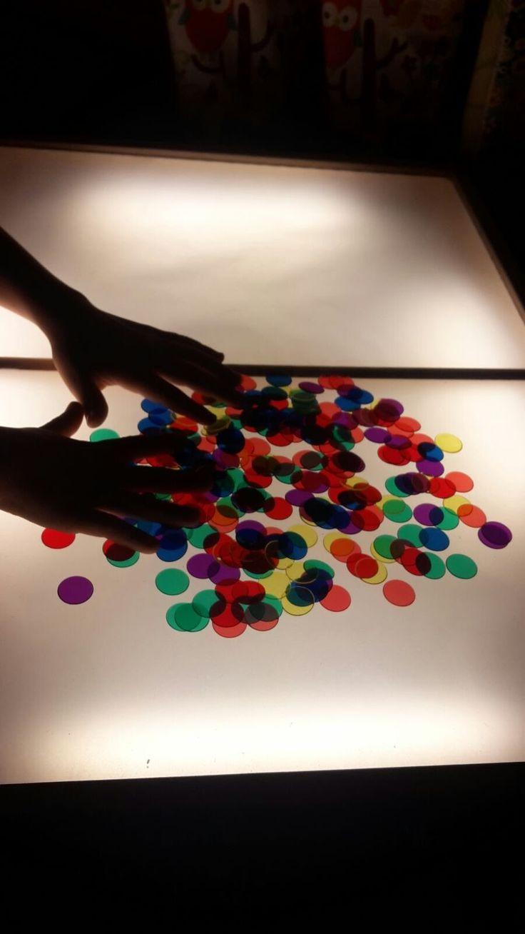 Cómo enseñar matemáticas, lengua, dibujo...sensorialmente con una mesa d...