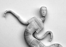Flexible Paper Sculptures by Li Hongbo