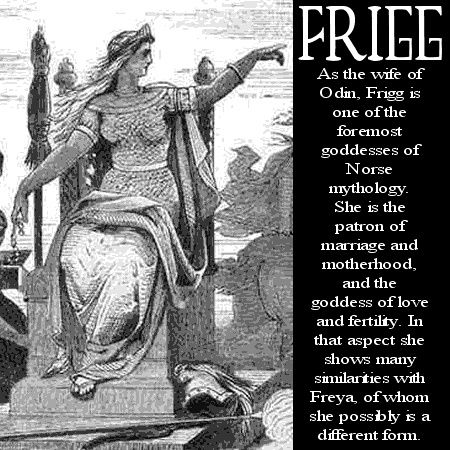 Image detail for -Norse mythology Frigg