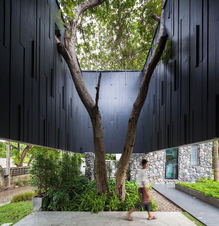 courtyard / LIMA DUVA Resort by IDIN Architects. Photo: Spaceshift Studio
