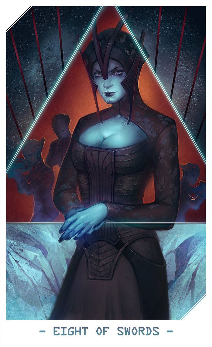 ME: Benezia (Eight of Swords) by Alteya.deviantart.com on @DeviantArt