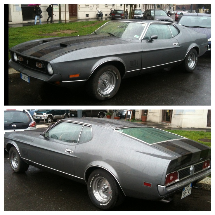 #muscle #car in #milan #ford #mustang