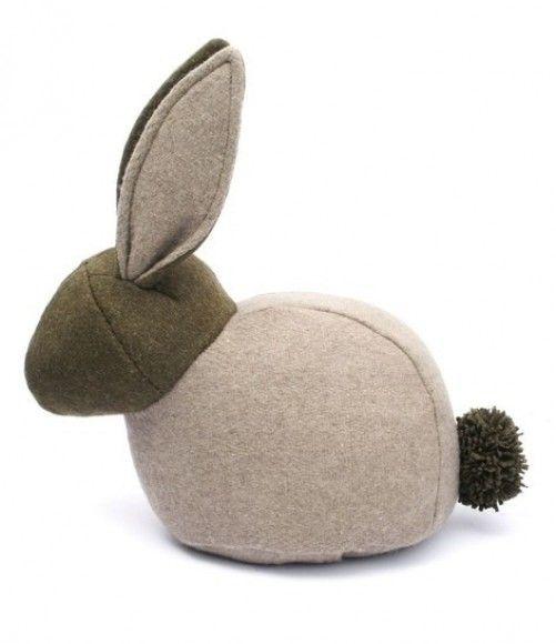 Deurstopper vilten konijn - Monica Richards London - Merken | Webshop | Truus & Bregje