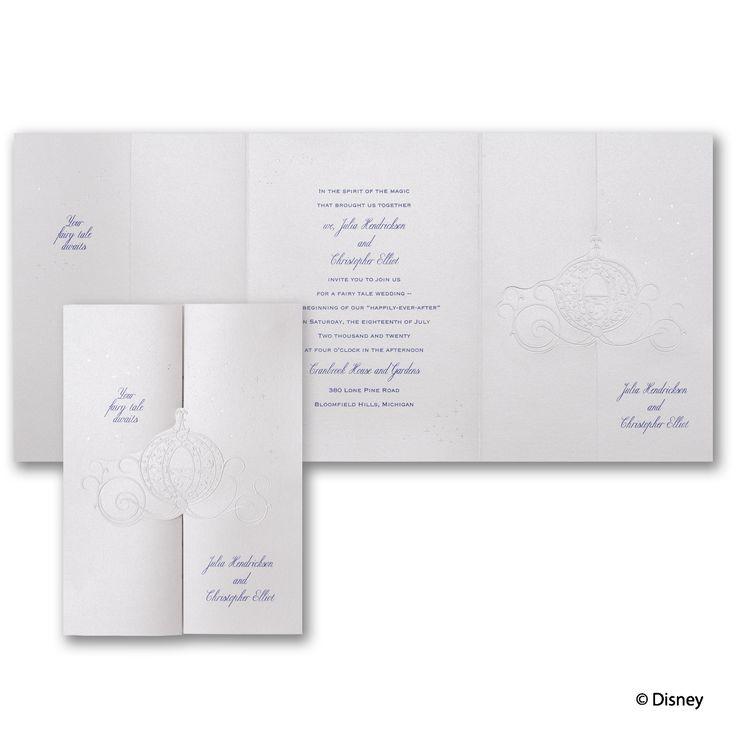 royal carriage cinderella invitation cinderella invitationswedding - Cinderella Wedding Invitations