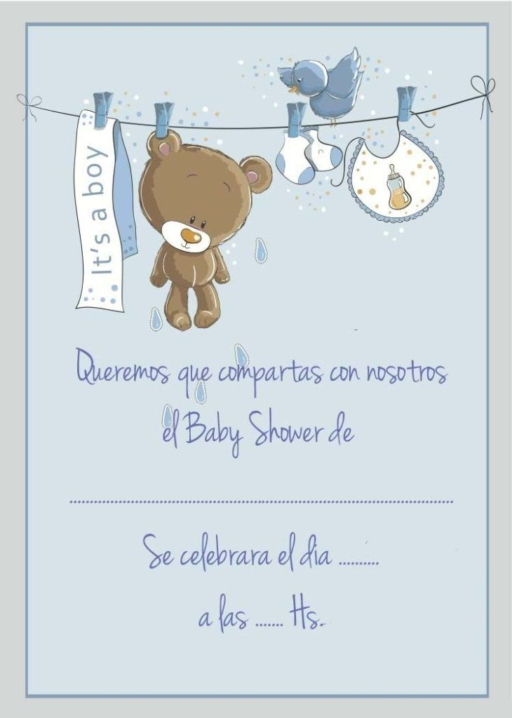 Baby Shower Invitaciones Para Imprimir Baby Shower