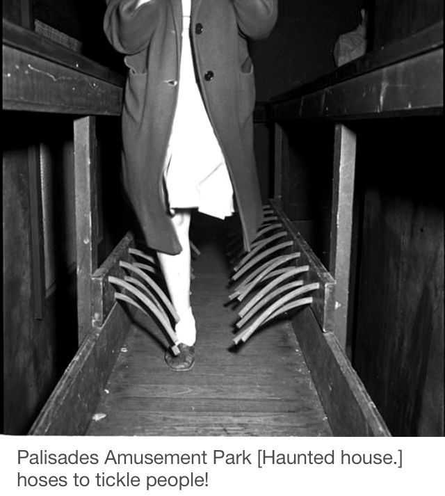 Leg ticklers for haunted house