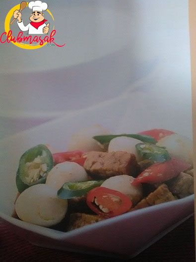 Resep Sambal Goreng Tempe Telur, Resep Masakan Sehari-Hari Dirumah, Club Masak