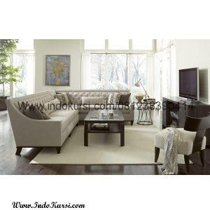 Set Kursi Sofa Sudut Ruang Tv