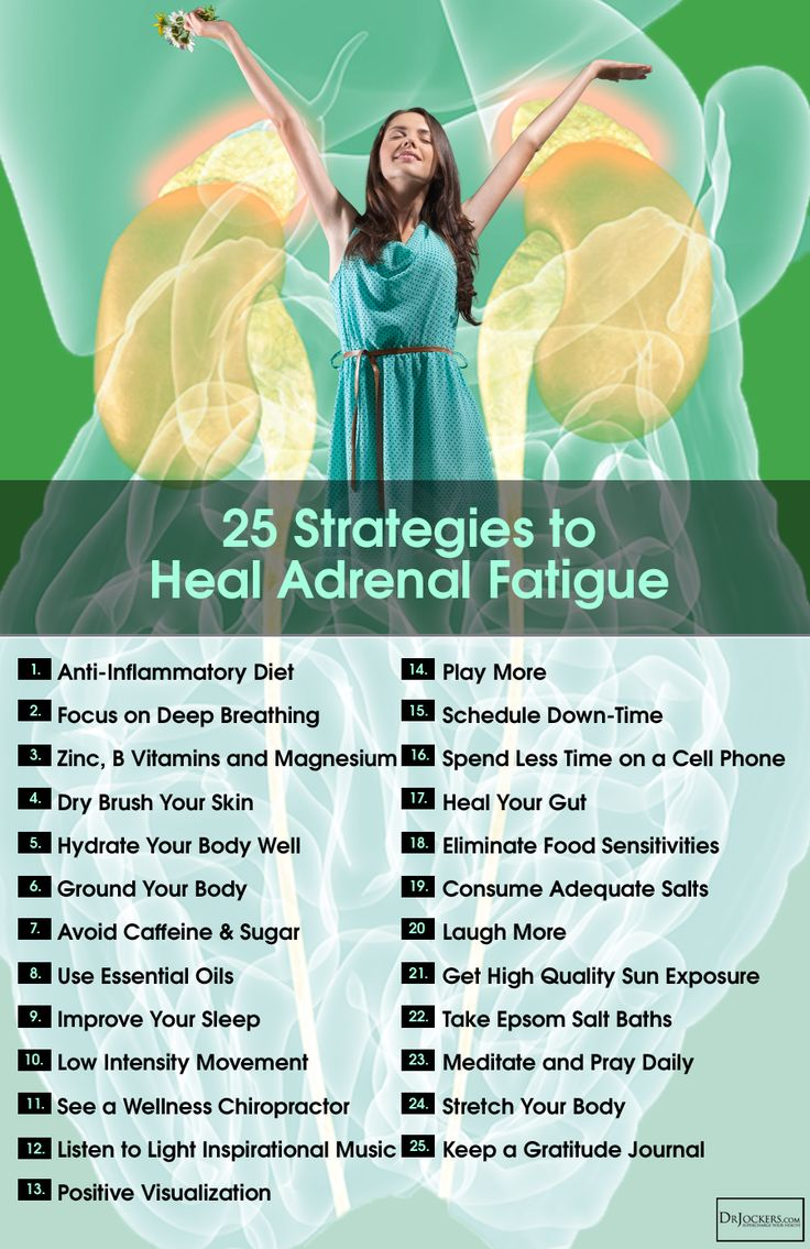 25 Lifestyle Strategies to Heal Adrenal Fatigue Naturally - DrJockers.com