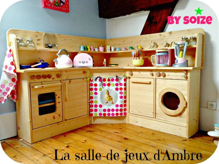 les 25 meilleures id es de la cat gorie cuisines enfant sur pinterest jeu de cuisine diy. Black Bedroom Furniture Sets. Home Design Ideas