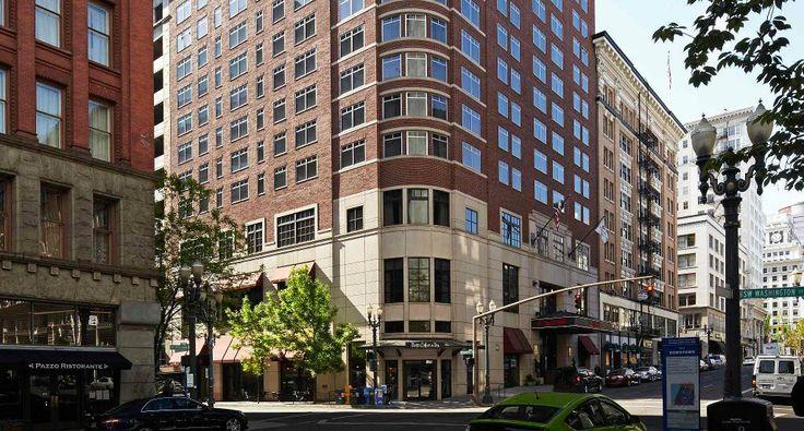 Boutique Hotels in Downtown Portland   Portland Marriott City Center Hotel