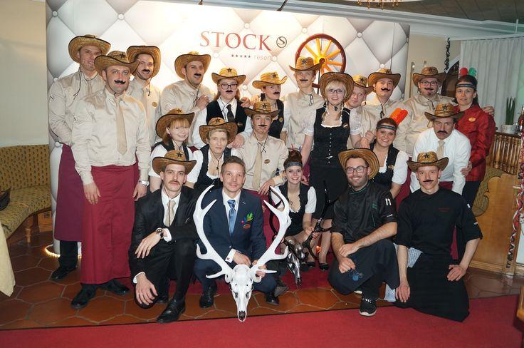 STOCK TEAM Fasching, Zillertal, Tirol, Österreich