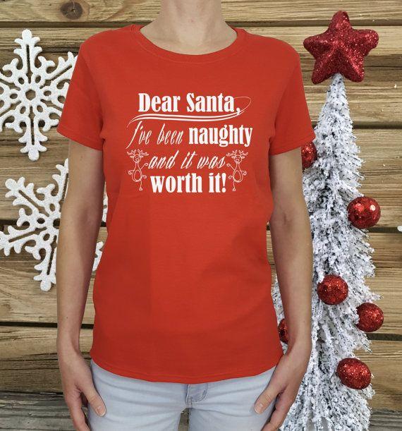 womens Christmas shirt funny Christmas shirt by HolidayShirtsCo