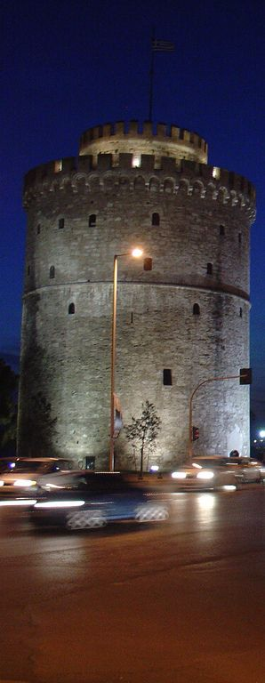 White Tower. Thessaloniki, Greece.