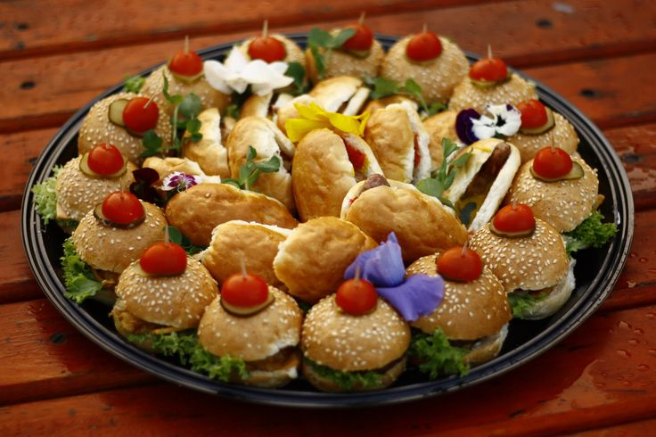 burger platter 180 degrees catering and confectionery www.180degrees.co.za