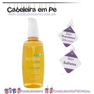 Sabonete Líquido Pele Oleosa Actine Control - Darrow (Sem SUlfatos, Sem Petrolatos e Sem Silicones) 'Low Poo' para pele