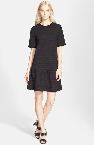 kate spade new york diamond knit drop waist dress available at #Nordstrom