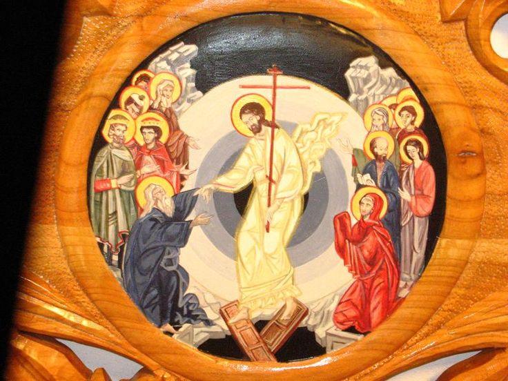 Icoana Invierii (icoana pe lemn), Iconostas -  biserica Atanasie si Chiril, Iasi