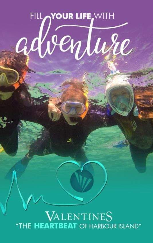 Fill Your Life with Adventure (in Harbour Island, Eleuthera, Bahamas)