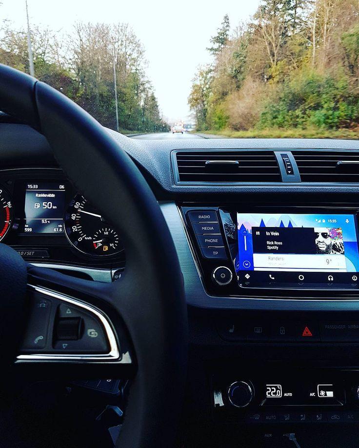 Har været ude og prøvekøre ny bil igen  Efter en del overvejelser ser det ud til vi har fundet den rigtige  - #Skoda #fabia #prøvekøre #car #new #ny #skodafabia #turbo #combi #Driving #køre #newcar #nybil #tsi #Randers #Android #google #androidauto #Spotify #music #musik #carepoint #want #Bil #usb