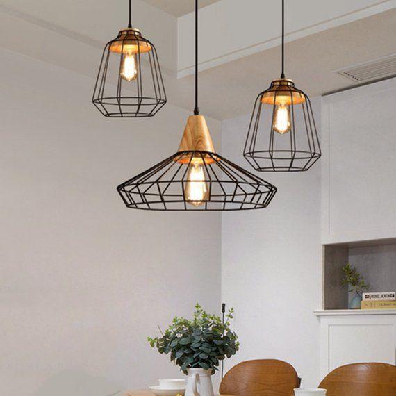Lamppodesign Modern Metal Ceiling Lightingblack Pendant Etsy In 2020 Metal Ceiling Metal Ceiling Lighting Pendant Light