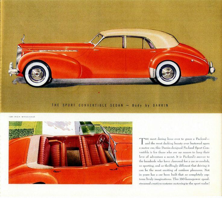 741 best PACKARD images on Pinterest | Old school cars, Vintage cars ...
