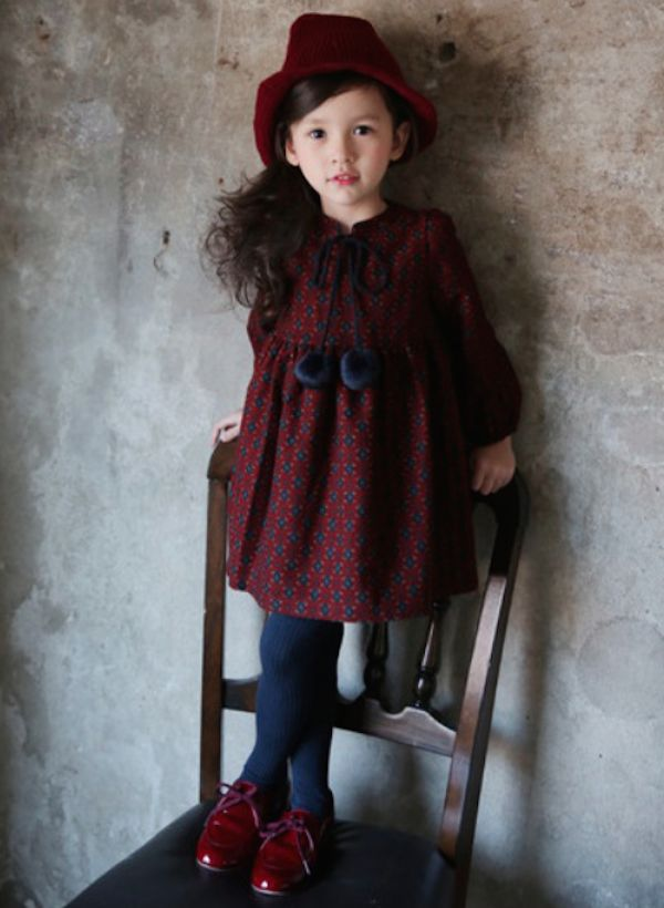 FLORETS DRESS #CandyRainbow #dresses #AW2015 #kidsclothing #kidsboutique