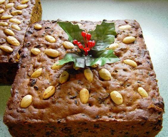 Rich Christmas Fruitcake - an Australian tradition.